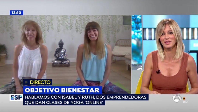 Entrevista con Susana Griso en Espejo Público (Antena 3)